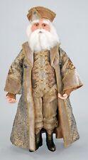 "Katherine's Collection Gilded Seasons 24"" Celebration Santa Christmas Doll"