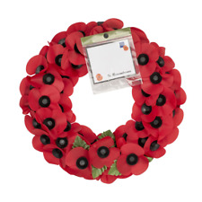 More details for medium poppy wreath | the royal british legion | remembrance appeal