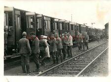 5 x Foto, Wk2, N.E.A.4, Verladen zum Transport nach Warschau 1940 (G)21081