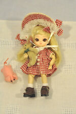 "JUN Planning Al Pullip Groove Inc., 5"" Cuphea  Doll BJB Original w/Bunny VGC!"