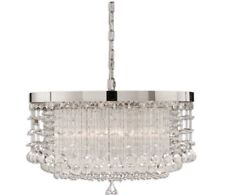 Fascination 3-Light Modern Crystal Chandelier Lighting Fixture Uttermost only 1