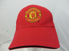 Manchester United baseball cap adjustable v footbal soccer red
