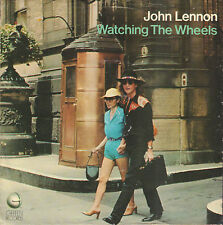 "JOHN LENNON ‎– Watching The Wheels (1981 US VINYL SINGLE 7"")"