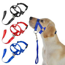 Dog Head Halter Strap Leader Collar Anti Bite Training for Small Large Dogs M-XL