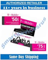 T-Mobile  PRELOADED SIM CARD with 1 or 2 Month Plan ++PORT IN REQUEST WELCOME++