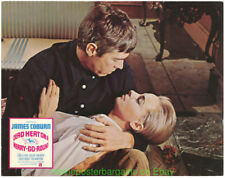 DEAD HEAT ON A MERRY-GO-ROUND LOBBY CARD size MOVIE POSTER Set of 8 JAMES COBURN