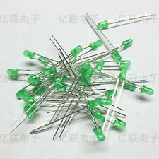 100Pcs LED 3MM GREEN COLOR GREEN LIGHT Super Bright NEW