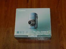 Open Box - Canon PowerShot Elph SD960 IS 12.1 MP Camera - BLUE - 013803109023