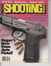Magazine SHOOTING TIMES, May 1987 lots of RUGER , pistol, rifle see pics. / a7