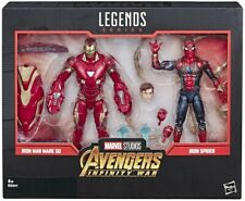 Marvel leyenda Iron-man Mark 50 Iron-spider Avengers infinito War extremo juego