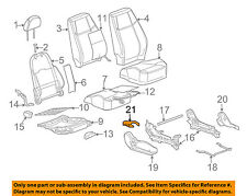 GM OEM Front Seat-Track Cover Left 15223303