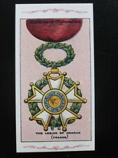 No.46 LEGION OF HONOUR (FRANCE) The Great War Series REPRO of Gallaher 1915