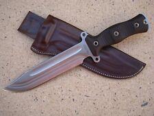 Busse Combat Knife Company Forsaken Gemini Knife Custom Molded Leather Sheath BN