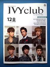 Exo IVY CLUB Magazine Nov. 12th Vol. EXO-K Baekhyun Chanyeol Sehun  & B.A.P.