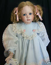 "Virginia Turner Original Porcelain Doll  HANNAH   24""   New in Box w/Certificate"
