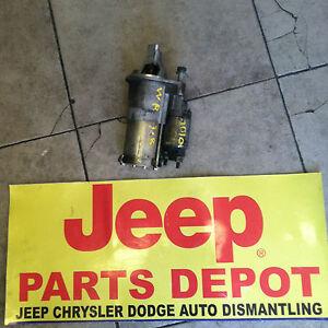 2007-2011 JEEP WRANGLER JK STARTER MOTOR MANUAL OR AUTO  3.8L ENGINE OEM MOPAR
