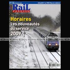 RAIL PASSION N°136 MONT-BLANC BARDOKTA LUNETTES DE SOLEIL USA & TRAIN S 2009