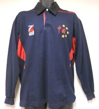 RUGBY SPORT  CHINA TEAM Rugby Shirt LONG SLEEVE SZ M By Lucy