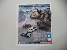 advertising Pubblicità 1973 SIMCA 1000 LS/GLS/SPECIAL/RALLYE