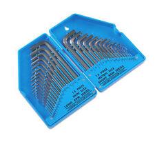 Huge Allen Key Hex Key Set Imperial AF & Metric + Storage Case 30 Valuable Piece