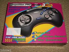 SEGA MEGADRIVE II PROFESSIONAL CONTROLLER GAMEPAD GAME CONTROL PAD Boxed