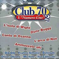 VARIOUS ARTISTS - CLUB 70: I NUMERO UNO, VOL. 2 NEW CD