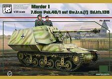 Panda Hobby 35006 1/35 Marder I, Sd.Kfz.135 7.5cm Pak 40/1 auf Gw.Lr.s.(f)