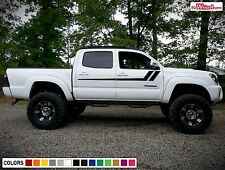 Decal Sticker Vinyl Side Door Stripes for Toyota Tacoma Sport 4x4 Handle Kit