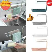 Telescopic Sink Rack Holder Expandable Storage Drain Basket Home