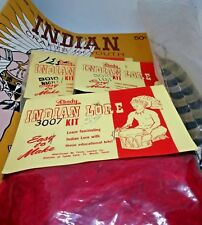 Vintage Tandy  Indian War Bonnet/Lore Kit 64 Indian Crafts Book for Youth