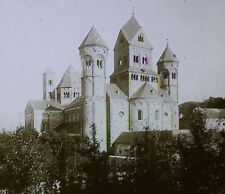Abtei (Abbey) Maria Laach, Germany, Magic Lantern Glass Photo Slide