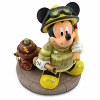 Disney Parks FIREMAN MICKEY MOUSE FIGURE BRAND NEW FREE SHIPPING