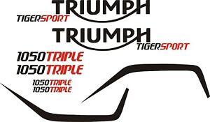 Triumph tiger sport decal set vinyl stickers