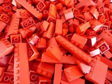 LEGO Dach Steine rot 100 Stück Schrägsteine Dachsteine Ziegel Dachziegel Haus