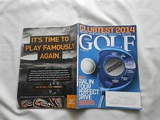GOLF MAGAZINE-MARCH,2014-HOW TO DIAL IN YOUR PERFECT DRIVE-CLUBTEST 2014