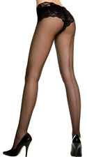 Queen Womens Plus Size  Sheer Backseam Pantyhose, Plus Size Pantyhose