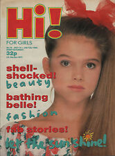 Hi! Magazine 14 July 1989   Hue & Cry   Charlie Sheen   Wee Papa Girl Rappers
