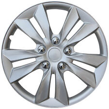 "(1 Piece) Hub Cap ABS Silver 16"" Inch Wheel Covers Caps Cover"