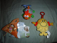 Especially for Baby Vibrating Bug Little Miss Sunshine Clip Tigger Sqeeze Toy 4""