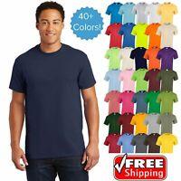 Gildan Ultra Cotton Men's T-Shirt Short Sleeve Unisex Tee S-3XL All Colors 2000