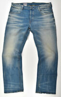 G-Star RAW, Jeans 3301 Loose W38 L34, Jeanshose Herrenjeans Cyclo Stretch Denim