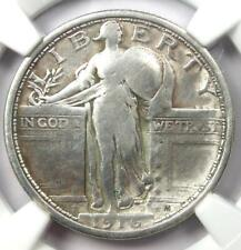 1916 Standing Liberty Quarter 25C - Certified NGC Fine Details - Rare Key Coin!