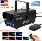 500W Fog Machine FM-03 Smoke Machine Wireless Remote  LED Light for Party Stage