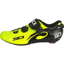 Sidi Wire Vent Carbon Men's Road Cycling Shoes Yellow Fluo/Black