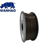 Wanhao Brown PLA 1.75 mm 1 KG Filament for 3d printer - Premium Quality