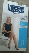 Jobst Compression Stockings Ultra Sheer 15 - 20 mmhg Classic Black Small 119421