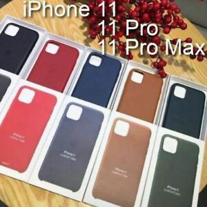 iPhone 11, 11 Pro, 11 Pro Max Original Apple Protective Leather Cover Case