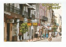 Postcard Bourbon Street New Orleans Louisiana USA    (A32)