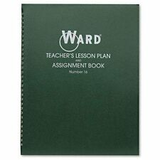 "Ward Teacher's 6-period Lesson Plan Book - Weekly - 9 Month - 8.50"" X 11"" - Wire"