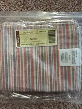 Longaberger Media Liner Market Stripe New In Package